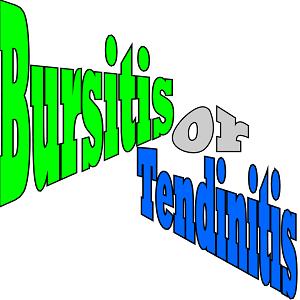 Bursitis or Tendinitis