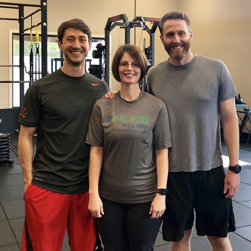 Running therapy at Move Better Physical Therapy