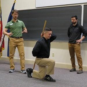 Movement screen ROTC