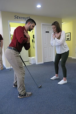 Physical Therapy for Golf training