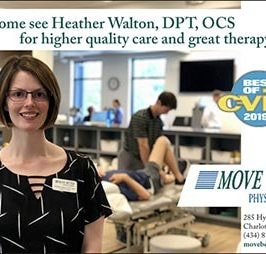 The Best Physical Therapist in Charlottesville