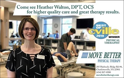 Best Physical Therapist in Charlottesville